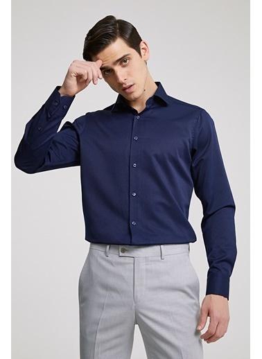 D'S Damat Slim Fit Gömlek Lacivert